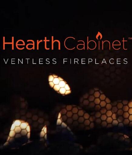HearthCabinet Ventless Fireplace logo